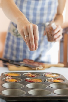 Making Paleo Muffins, spicing up